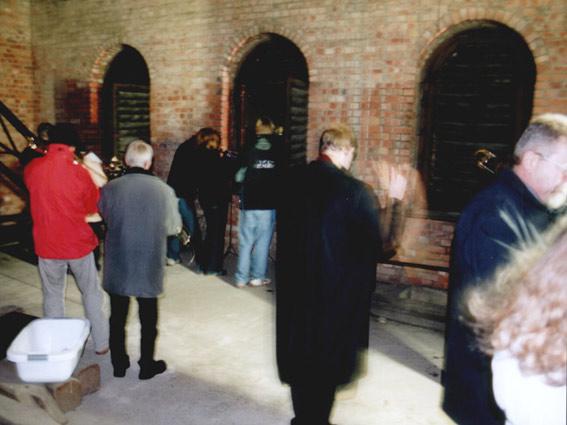 Turmblasen zu Silvester am 31. Dezember 2004