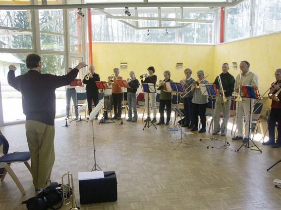 Posaunenchorfreizeit im Haus Wohldenberg 02. bis 03. April 2005
