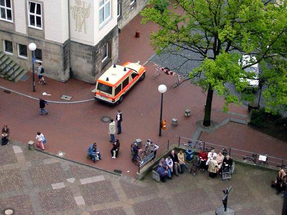 Turmblasen St. Andreas 14. Mai 2005