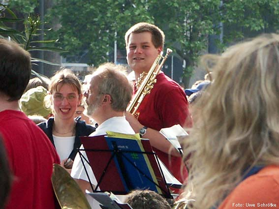 Kirchentag in Hannover - Mai 2005